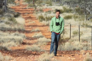 Nick Murray at Bowra, western Queensland, June 2011